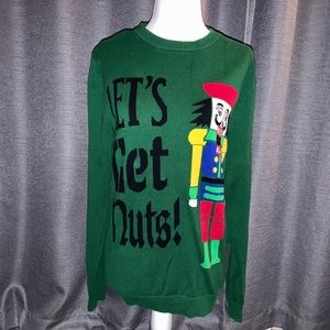 """""""Let'S Get Nuts!"""" Sweater"""